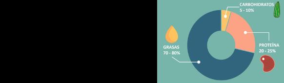 Distribución de macros en keto