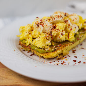 Idea de desayuno keto