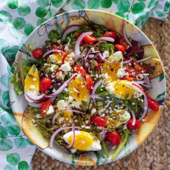 Spring Salad Keto